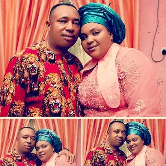 Chioma Jesus and Her Husband