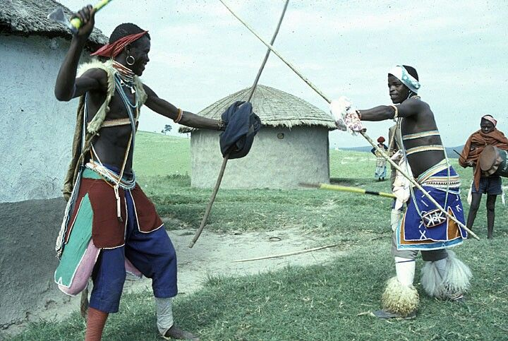 History Of The Nguni Stick Fighting In South Africa