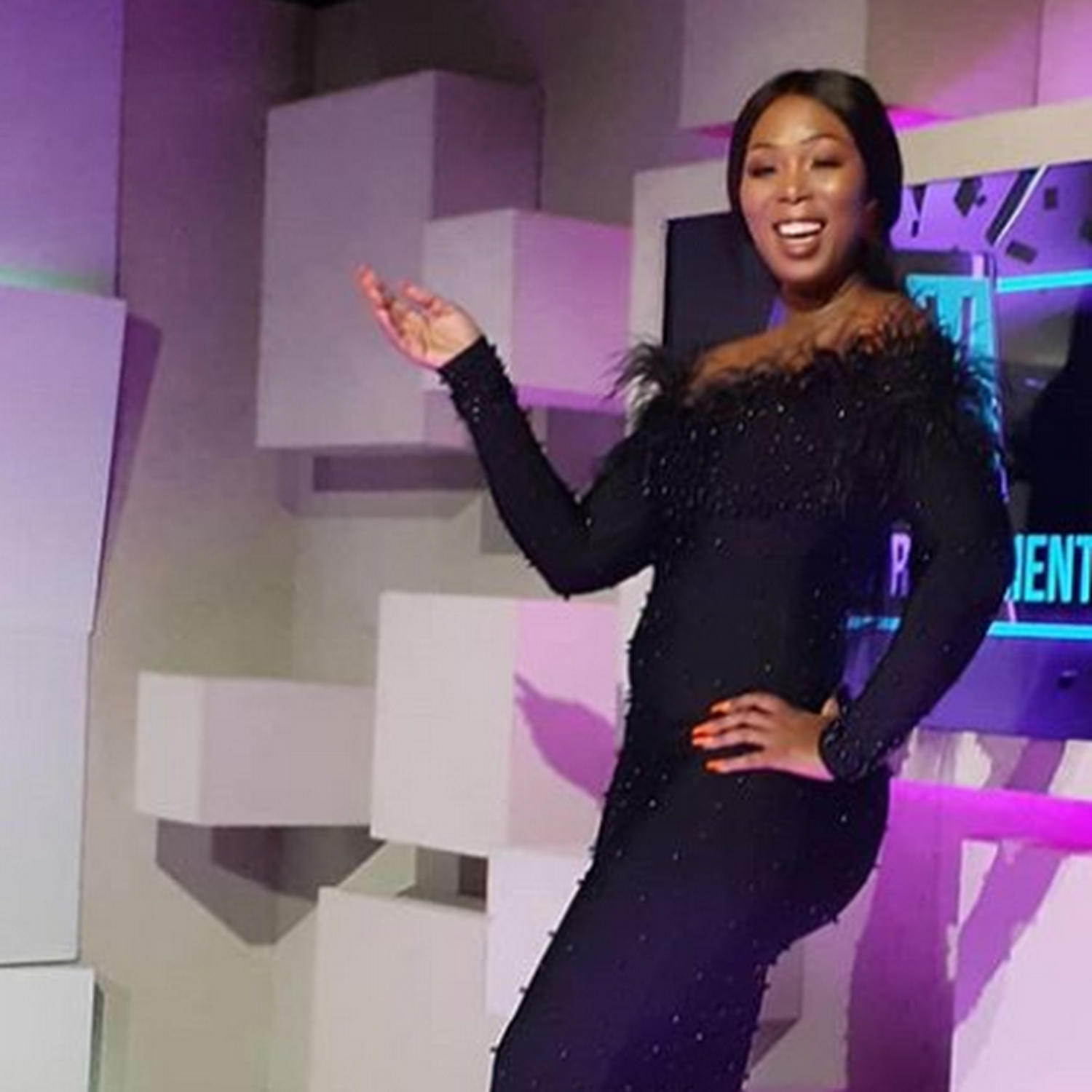 Actress Brenda Ngxoli grateful for her own dressing room