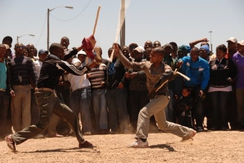 NGUNI STICK FIGHTING SOUTH AFRICA