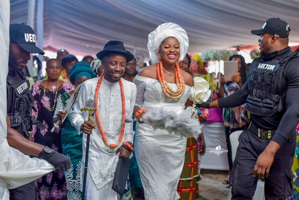 I would be dead without you – Rapper Erigga writes as he weds his fiancée