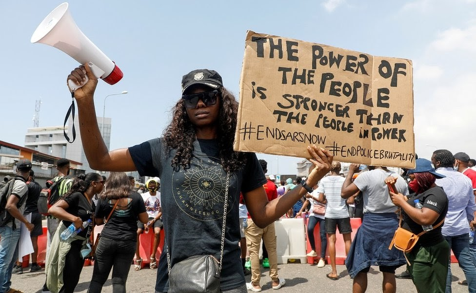African-Americans Join Nigerian #EndSARS Movement in Solidarity