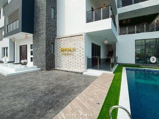 See Multi-Million Naira Mansion Owned By Super Eagles And Manchester Striker, Odion Ighalo