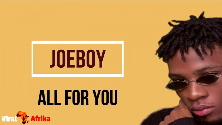 Joeboy all for you mp3 download